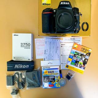 ニコン(Nikon)の【美品】Nikon D750(デジタル一眼)