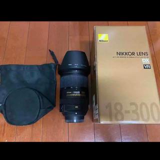 ニコン(Nikon)のNikon AF-S DX 18-300F/3.5-5.6G ED VR(レンズ(ズーム))