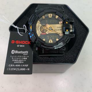 ジーショック(G-SHOCK)のCASIO G-SHOCK GBA-400-1A9 G'MIX ジーショック(腕時計(デジタル))