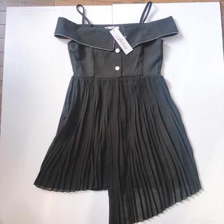 デイジーストア(dazzy store)の新品 オフショル  ミニワンピース  M キャバドレス (ミニワンピース)