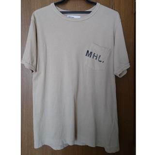 マーガレットハウエル(MARGARET HOWELL)のあると様専用☆MHL.Tシャツ ベージュ(Tシャツ/カットソー(半袖/袖なし))