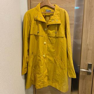 ALIZE イエロー コート スプリングコート 婦人服 レディース 大きいサイズ