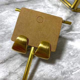 IENA - 【¥100off】metal plate pierce 〈GOLD〉