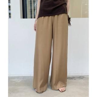L'Appartement DEUXIEME CLASSE - 新品■Relax Wide pants■キャメル 34■アパルトモン