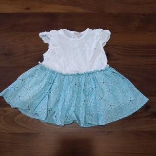 キッズズー(kid's zoo)のベビー服(ワンピース)