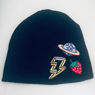 エイチアンドエム(H&M)のH&M ワッペンビーニー⭐︎ニット帽(ニット帽/ビーニー)