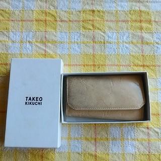 タケオキクチ(TAKEO KIKUCHI)のTAKEO KIKUCHIキーケース(キーケース)