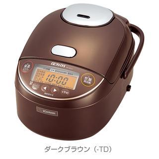 ゾウジルシ(象印)の新品 象印 圧力IH炊飯器 NP-ZS18-TD(炊飯器)