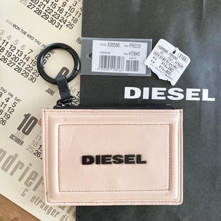 ディーゼル(DIESEL)のDIESEL(ディーゼル) マルチカードケース ピンク(パスケース/IDカードホルダー)