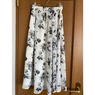 ココディール(COCO DEAL)のココディール 花柄スカート(ロングスカート)
