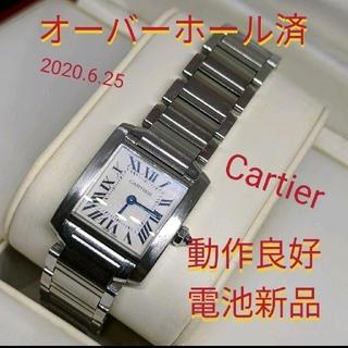 Cartier - Cartier カルティエ タンク フランセーズ 2384 腕時計 レディース