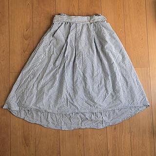 ムジルシリョウヒン(MUJI (無印良品))のKOE ストライプスカート (ひざ丈スカート)