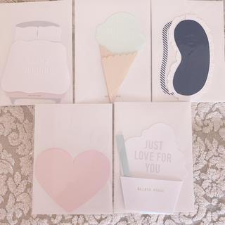 ジェラートピケ(gelato pique)のgelato pique♡新品メッセージカードセット(カード/レター/ラッピング)