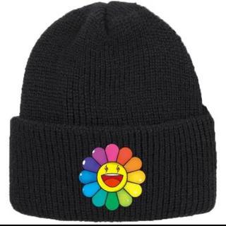 Supreme - J Balvin 村上 隆 RAINBOW FLOWER BEANIE ニット帽