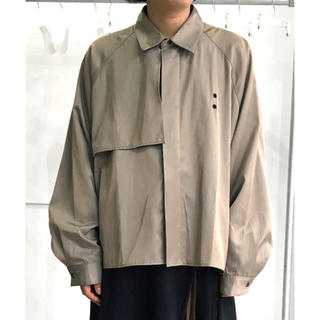 Jieda - 最終値下 JieDa ジエダ 20ss トレンチシャツ TRENCH SHIRT