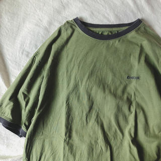 Reebok - 美品 Reebok Tシャツ 古着 ビンテージ 90s リンガー