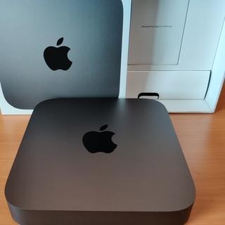 マック(Mac (Apple))の美品 Mac mini 2018 i5 256GB MRTT2J/A(デスクトップ型PC)