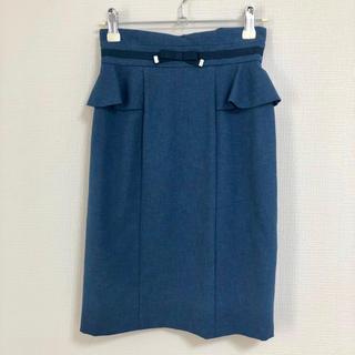 MISCH MASCH - 最終値下げ‼️MISCH MASCH ウエストリボンタイトスカート 新品 未使用