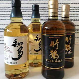 ニッカウヰスキー - 知多ウィスキー  竹鶴ピュアモルト  セット