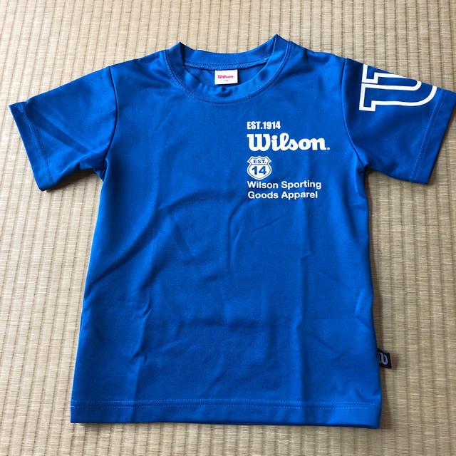 wilson(ウィルソン)の半袖Tシャツ 130 キッズ/ベビー/マタニティのキッズ服男の子用(90cm~)(Tシャツ/カットソー)の商品写真