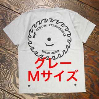 エムアンドエム(M&M)の【新品未使用】m&m custom performanceプリントTグレーM(Tシャツ/カットソー(半袖/袖なし))