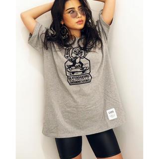 ジェイダ(GYDA)のGYDA ジェイダ SK8BUNNY BIG Tシャツ ブラック(Tシャツ(半袖/袖なし))