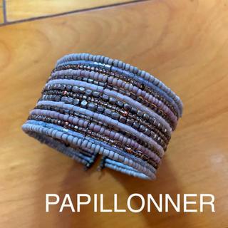 パピヨネ(PAPILLONNER)の【PAPILLONNER】パピヨネ ビーズ バングル ブレスレット(ブレスレット/バングル)