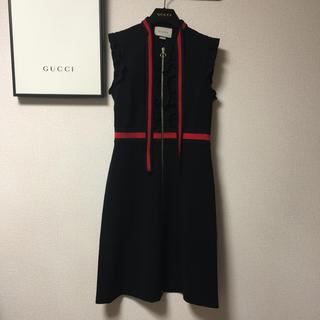グッチ(Gucci)の☆グッチ ワンピース 希少サイズ(ひざ丈ワンピース)