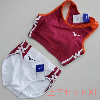 MIZUNO - ミズノ 女子陸上ユニフォーム上下セット XLサイズ 未使用新品