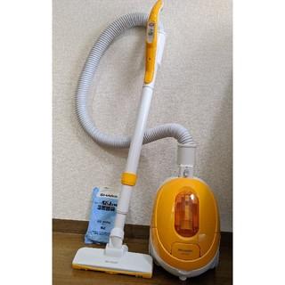 シャープ(SHARP)のシャープ 掃除機 紙パック式 オレンジ EC-KP7F-D 紙パック付(掃除機)