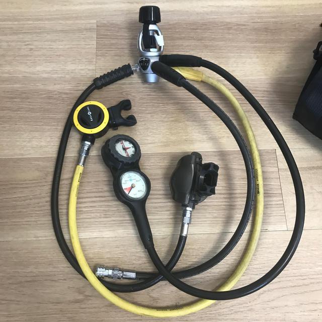 Aqua Lung(アクアラング)のダイビング BC レギュレター クエスト ダイビングベル 他 スポーツ/アウトドアのスポーツ/アウトドア その他(マリン/スイミング)の商品写真