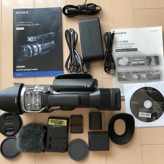 ソニー(SONY)のソニーレンズ交換式 デジタルHDビデオカメラレコーダー NEX-VG10(ビデオカメラ)