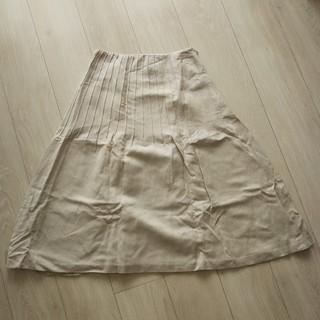 シビラ(Sybilla)のSybilla 麻スカート(ひざ丈スカート)