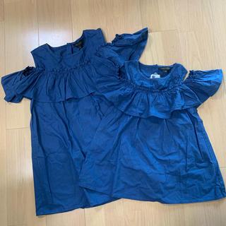 マーキーズ(MARKEY'S)の【新品未使用】マーキーズ チュニック 親子お揃い(Tシャツ/カットソー)