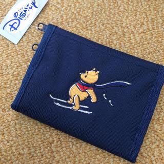 ディズニー(Disney)のディズニー プーさんの三つ折財布  (財布)