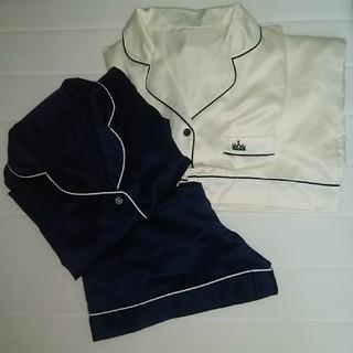 ジーユー(GU)のGUパジャマ2枚セット半袖半ズボン&半袖長ズボン(パジャマ)