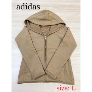 adidas - adidas  アディダス パーカー レディース  Lサイズ