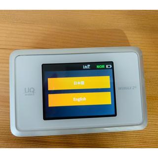 エヌイーシー(NEC)のWiMAX 2+ Speed Wi-Fi NEXT WX03(PC周辺機器)