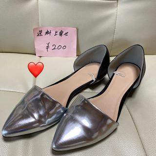 ザラ(ZARA)の❤ZARA ぺったんこ靴(ハイヒール/パンプス)