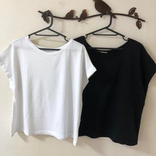 ザラ(ZARA)のZARA Tシャツ二枚セット(Tシャツ(半袖/袖なし))