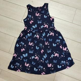 H&M 女のコ 蝶ワンピース 11120