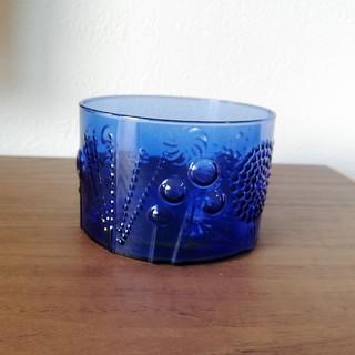 イッタラ(iittala)のイッタラ フローラ ボウル Flora bowl ダークブルー(食器)