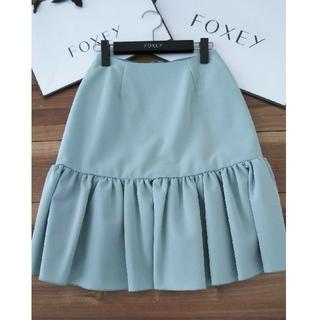 フォクシー(FOXEY)のフォクシー スカート 38サイズ(ひざ丈スカート)