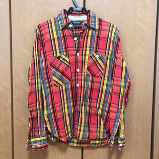 フェローズ(PHERROW'S)の好配色 FOB factory チェックシャツ ネルシャツ(シャツ)