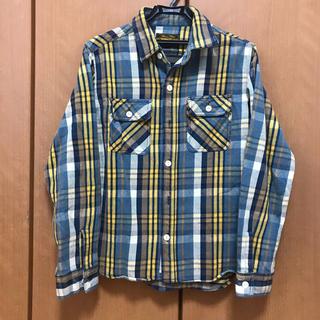 フェローズ(PHERROW'S)の好配色 ベアフット チェックシャツ ネルシャツ(シャツ)