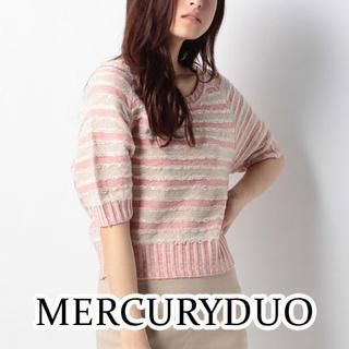 マーキュリーデュオ(MERCURYDUO)の新品 未使用 マーキュリーデュオ ドルマン カットソー プルオーバー タグ付き(カットソー(半袖/袖なし))