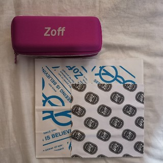 Zoff - 最終値下げ【新品】Zoff メガネケース フロス 紙袋 セット【匿名発送】