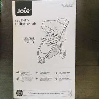 Joie (ベビー用品) - 新品未開封カトージ ジョイイー ライトトラックス エア ベビーカー