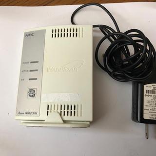 エヌイーシー(NEC)のWI-FI 無線ルーター(PC周辺機器)
