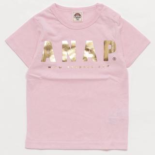 アナップキッズ(ANAP Kids)の新品 子供服 キッズ Tシャツ トップス (Tシャツ/カットソー)